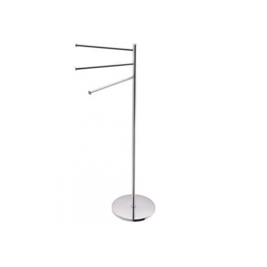 Freestanding Towel Stand Round