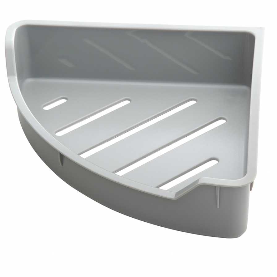 Brayden Corner Shelf Insert - Grey