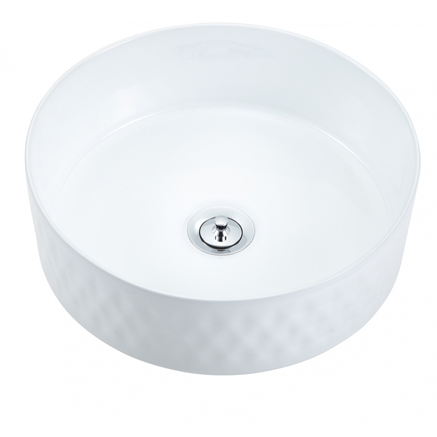 Radial 355 Textured Countertop Basin