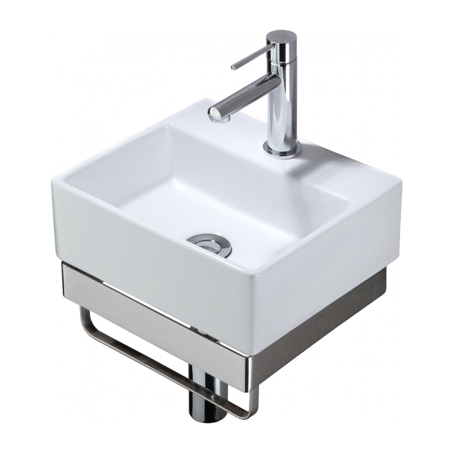 Studio 1 Compact Wall Basin Set