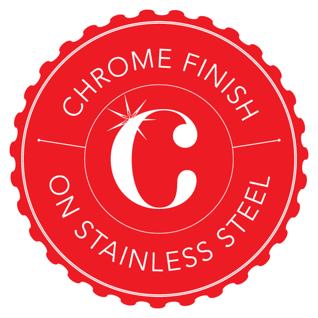 Chrome on Stainless Steel