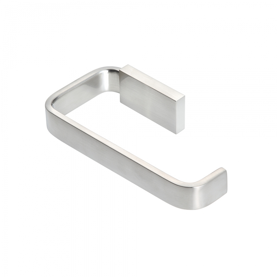 Podium Toilet Roll Holder Brushed Nickel