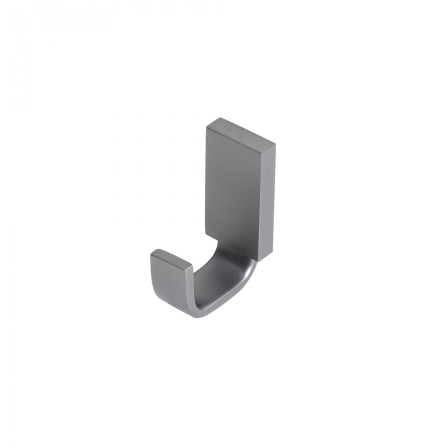 Podium Robe Hook Gunmetal