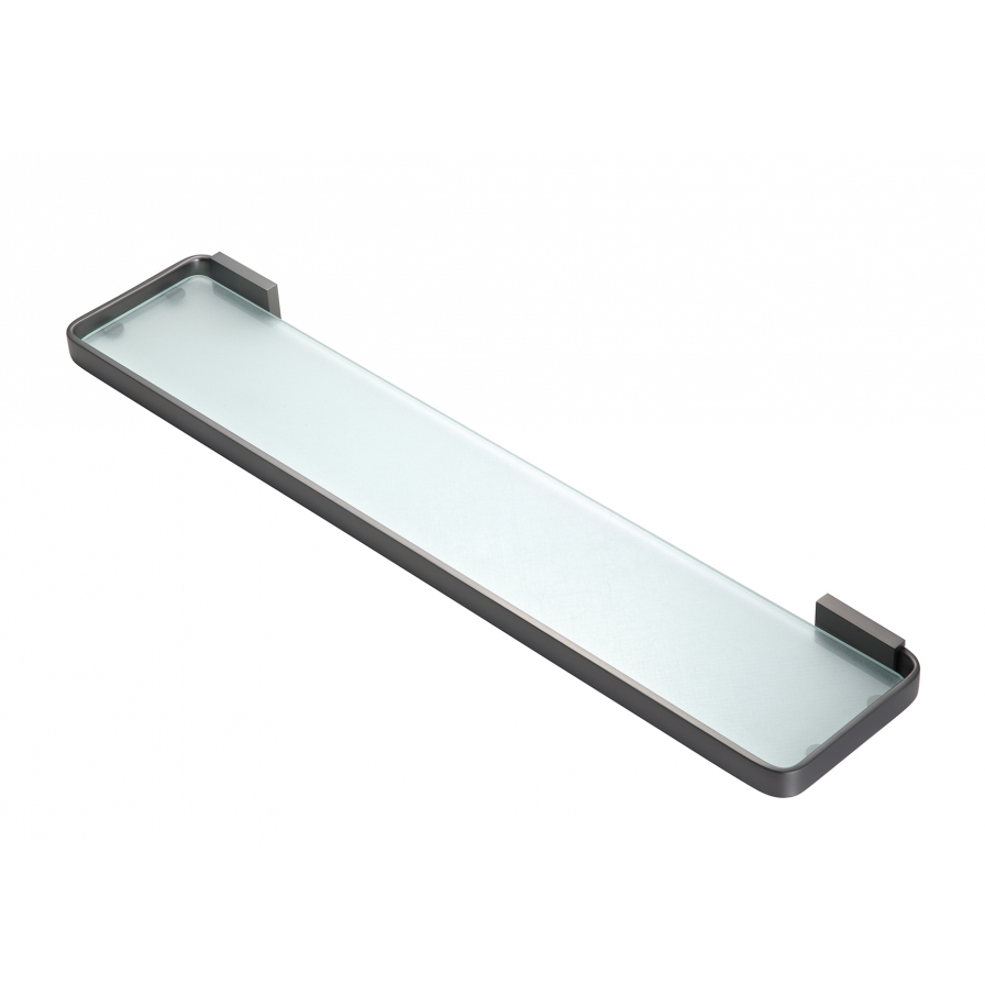 Podium Glass Shelf Gunmetal