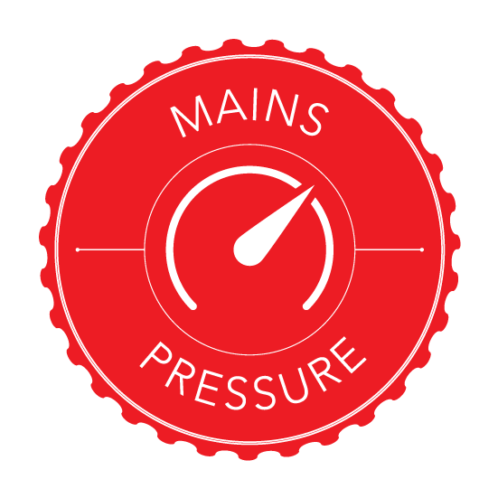 Mains Pressure Only