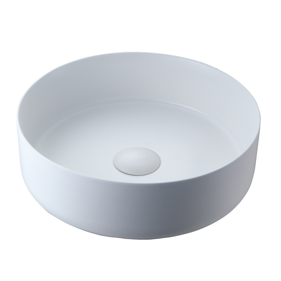 Radial 355 Countertop Basin (Matt White)